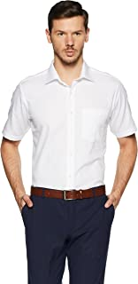 Van Heusen Men's Plain Regular Fit Formal Shirt