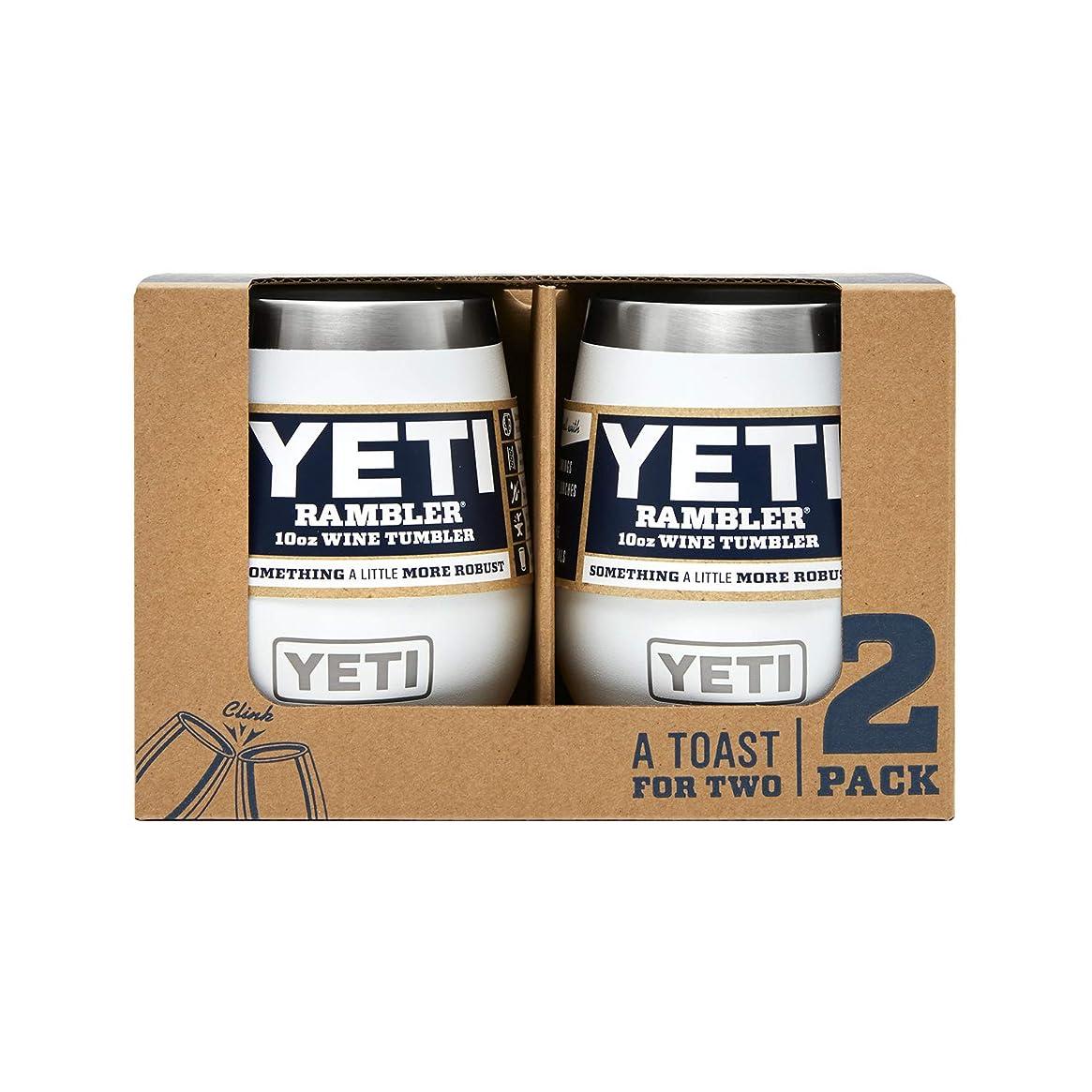 YETI Rambler 10 oz Stainless Steel Vacuum Insulated Wine Tumbler