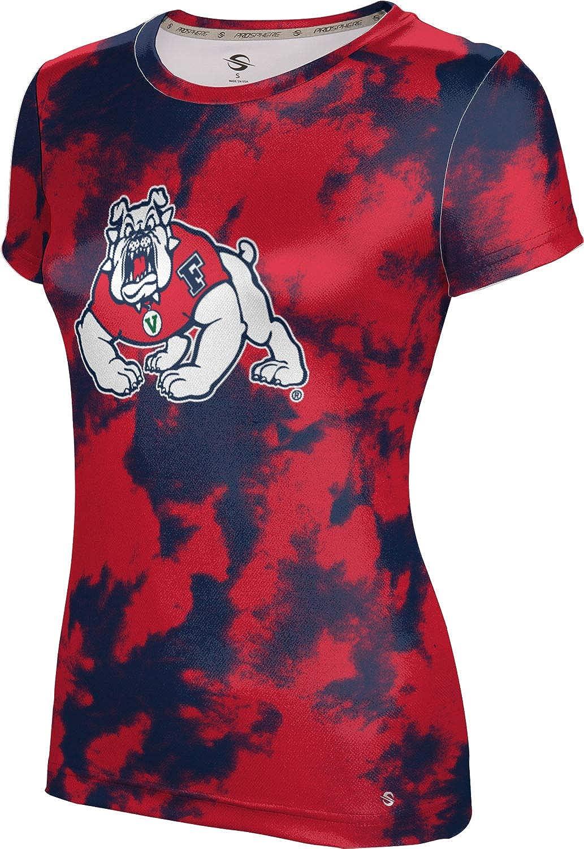 ProSphere Fresno State University Girls' Performance T-Shirt (Grunge)