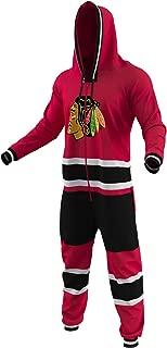 Hockey Sockey Chicago Blackhawks Ice Team Color Logo NHL Licensed Onesies Fan Apparel (XX Small)