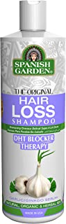 Hair Loss Garlic Shampoo/DHT BLOCKER THERAPY 16 Ounce (Garlic/Ginkgo) (450ml)