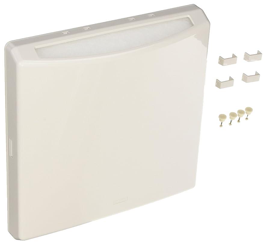 また明日ね補う対ナスタ 換気部材 フィルター付換気カバー ポレット 花粉除去用フィルター付 シルバーグレー L KS-8690PFN-SG 1組