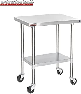 DuraSteel Stainless Steel Work Table 24