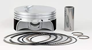 Sportsman Racing Products SRP Forged Piston Kit for 400 Small Block Chevrolet SBC Pro Flat Top 271064