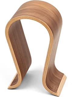 Wood Arch Headphone Stand (Walnut Finish) TEKLINE Model: ASONA