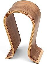 Wood Arch Headphone Stand (Walnut Finish) TEKLINE Model: ASONA