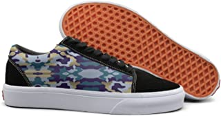 PPQQMM Snow Camo Camo Patterns Hunting Hunting Coats Men Golf Le Fleur Skateboard Shoes Retro X Low Top 2018