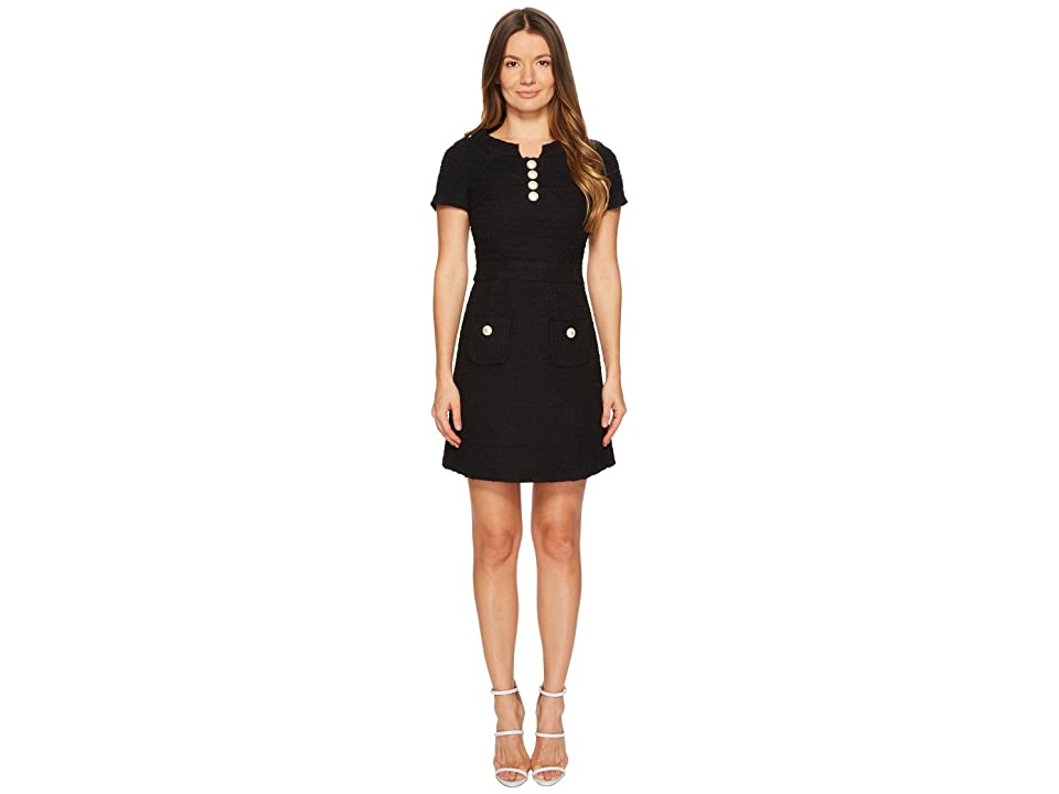 Boutique Moschino Dress w/ Pockets (Black) Women