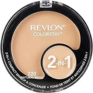 Revlon Colorstay 2 In 1 Compact Makeup & Concealer Natural Beige Face Concealer