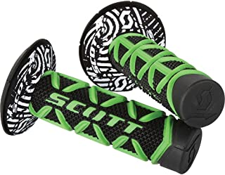 Scott Diamond Off-Road/Dirt Bike Motorcycle Hand Grips - Green/Black/One Size