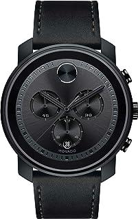 Movado Bold Chronograph Quartz Black Dial Men's Watch 3600604