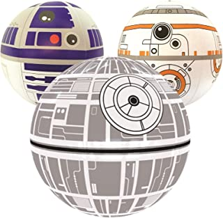 Ninostar Large Play Balls Set of 3 - Fun Indoor and Outdoor Gift - Can Use for Play/Room Decor/Party Decor/Pool Inflatable Water Toys…