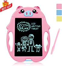 SLHFPX LOFEE Birthday Present for 2-6 Years Old Girl, Boogie Board Magna Doodle for Kids Best Gifts for 5-12 Year Old Boys Girls Writing Tablet Doodle Board for Kids Toddlers Pink