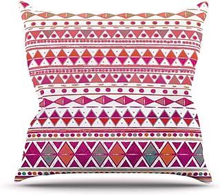 "KESS InHouse MM1002AOP03 18 x 18-Inch ""Nika Martinez Summer Breeze"" Outdoor Throw Cushion - Multi-Colour"