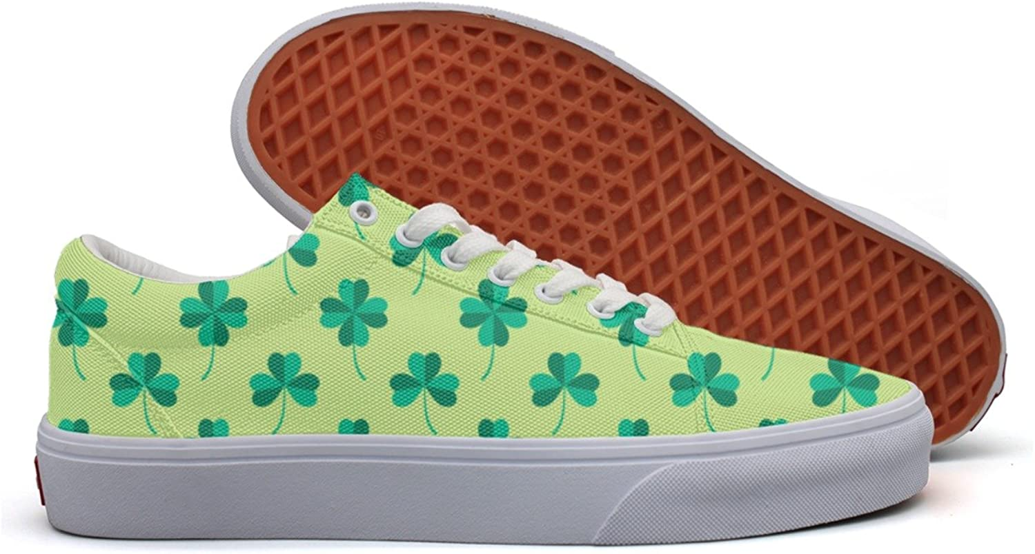 St. Patrick's Day Party Womens Fashion Canvas Sneakers