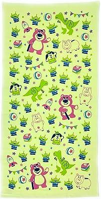 [ディズニー] キャラクター やわらか ガーゼ&パイル バスタオル 約60x120cm 綿100% (トイストーリー)
