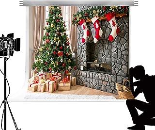 f9069549991 Kate Árbol de Navidad chimenea Photocall telón de fondo de fondo para  estudio fotografía Familia de