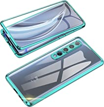 Sponsored Ad - Compatible with Xiaomi Mi 10 Case, Jonwelsy 360 Degree Front and Back Transparent Tempered Glass Cover, Str...