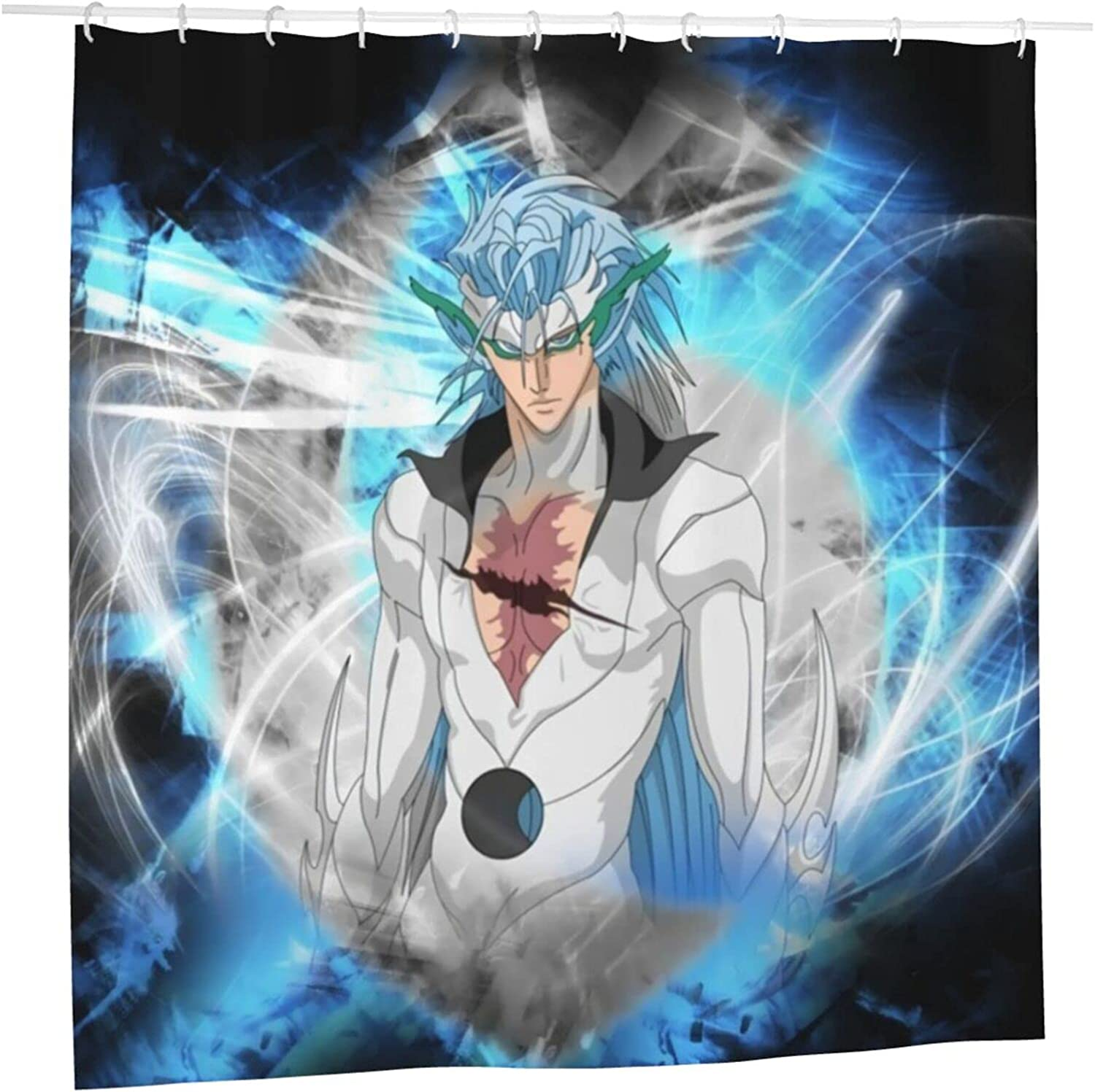 Max 90% OFF Bleach Anime Grimmjow Jeagerjaques Soldering Shower Liner Bathroom Curtain