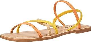 Lucky Brand Footwear Women's Bizell Sandal, Melon Combo, 7.5