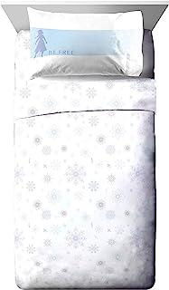 Jay Franco Disney Frozen Elsa Color Block Twin XL Sheet Set - 3 Piece Set Super Soft and Cozy Kid's Bedding - Fade Resista...
