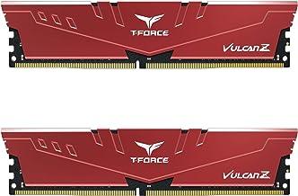 TEAMGROUP T-Force Vulcan Z DDR4 16GB Kit (2x8GB) 3600MHz (PC4-28800) CL18 Desktop Memory Module...