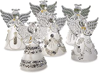 Best glass ornament angel Reviews