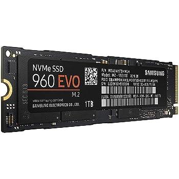 Samsung SSD 960 EVO Series - 1TB PCIe NVMe - M.2 Internal SSD (MZ-V6E1T0BW