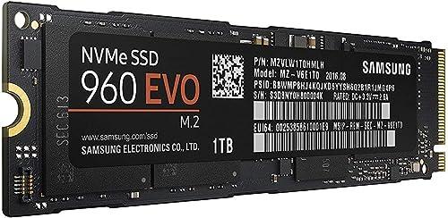 Samsung 960 EVO M.2 PCIe NVMe 1TB Internal SSD (MZ-V6E1T0BW) [Canada Version]