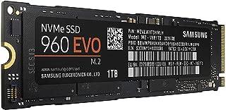 Samsung 960 EVO Series - 1TB PCIe NVMe - M.2 Internal SSD (MZ-V6E1T0BW)