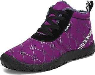 Voovix Women's Snow Boots Winter Warm Fur Lined Ankle Booties Lightweight Waterproof Non Slip Outdoor Shoes
