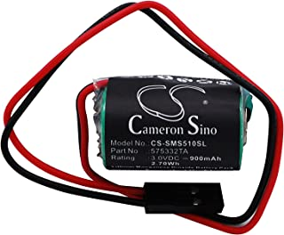 Batería para Siemens Simatic S5-100U, S5-90U, S7-400, SL761, SL770, S7-300, S5-95U, SL2361, CXFL, S7-200, 6ES7291-8BA20-OXAO (900 mAh)