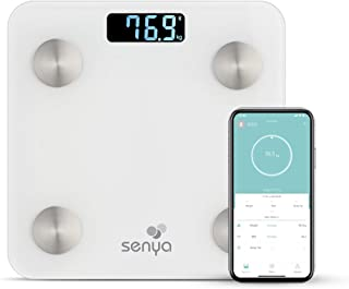 Senya SYWB-S007 - Báscula de baño con Bluetooth para un seguimiento diario de tu salud