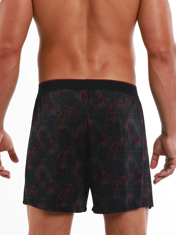 Perry Ellis Men's Luxe Button Fly Boxer Shorts