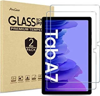 [2 Pack] ProCase Galaxy Tab A7 10.4 2020 Screen Protector T500 T505 T507, Tempered Glass Screen Film Guard for 10.4 Inch G...