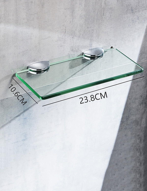 muchas concesiones Estantes de Vidrio Vidrio Vidrio para bao Estantes de bao de Hotel de Rack de Suministros de Lavado de una Sola Capa (Color   36  10CM)  barato y de alta calidad