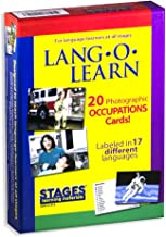 Stages Learning Materials Stages Learning Materials Lang-O-Learn ESL Occupation Vocabulary Cards Flashcards for English, Spanish, French, German, Italian, Chinese, Korean +More