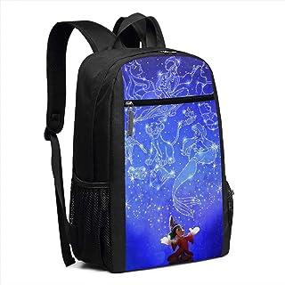 BUGKHD Mochila de viaje para portátil, mochila para la escuela de magia, bolsa informal, mochila para mujeres y hombres