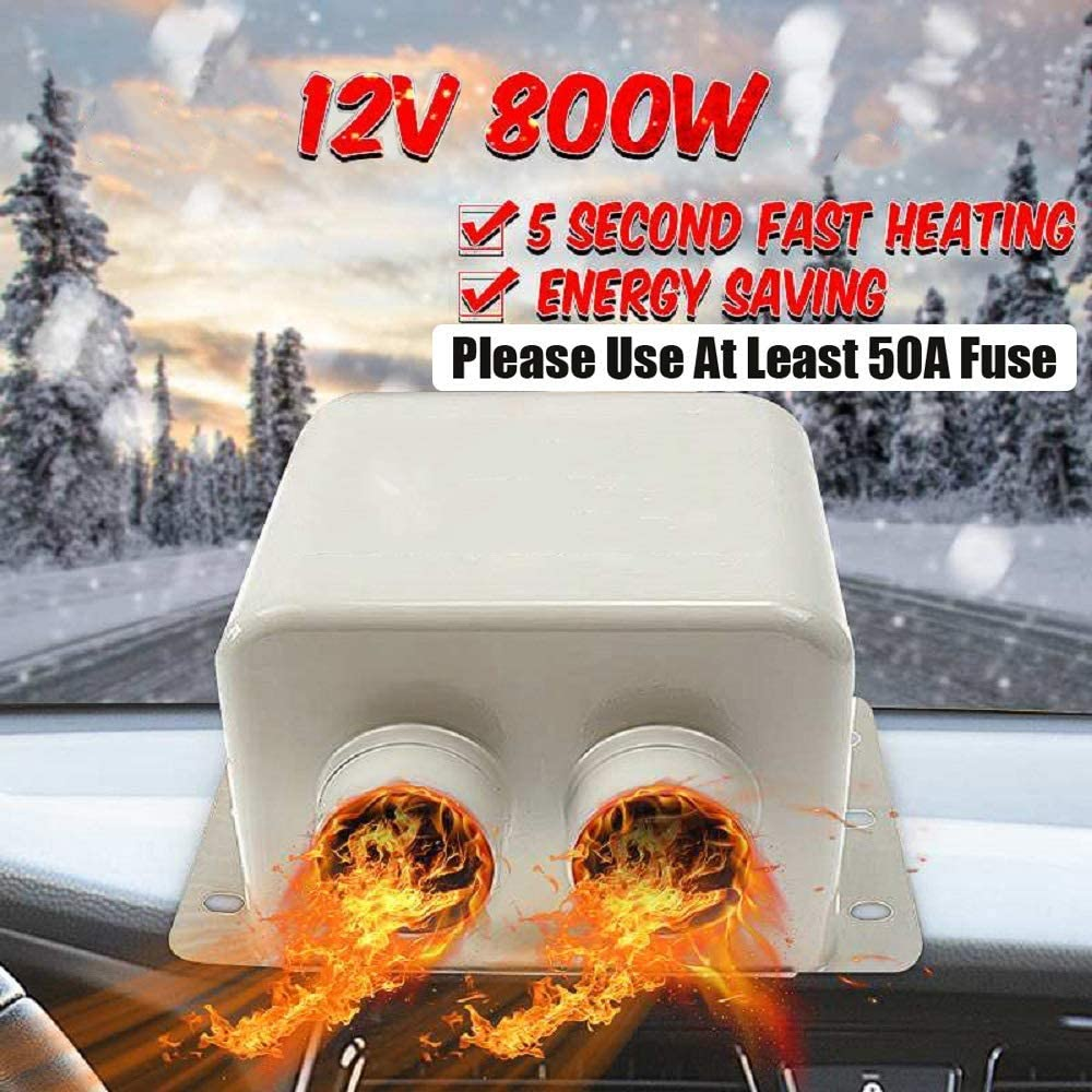 MACHSWON High Power 5 Second Fast Heating Defrost Windscreen Demister Defogger for Automobile Windscreen Winter Car Heater Kit 12V 600W