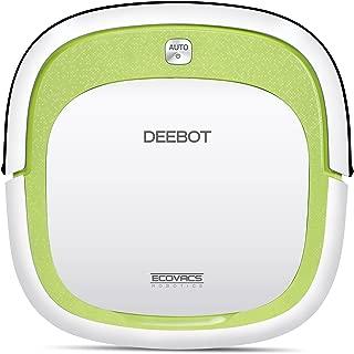 Ecovacs Deebot DA60 Slim Robotic Vacuum Cleaner for Bare Floor Green (Renewed)