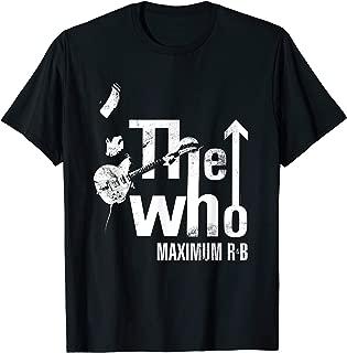 The Who Official Maximum R&B Tour T-Shirt