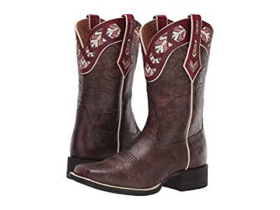 Ariat Round Up Monroe (Brown Crunch) Cowboy Boots