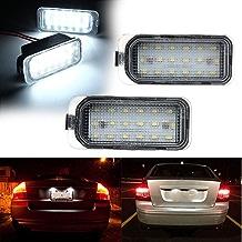 PolarLander Error Free Led Luz de matrícula Trasera LED Lámpara de matrícula Styling para F-ORD Fiesta JA8 para Focus DYB S-MAX