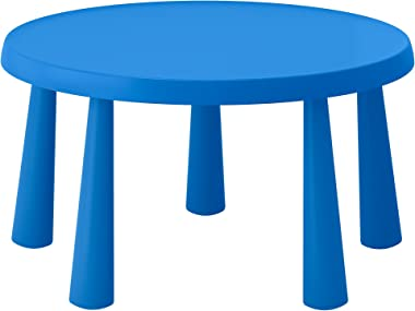 IKEA Mammut Children'S Table, Indoor/Outdoor Blue