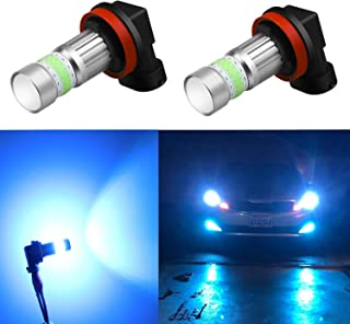 Alla Lighting H16 LED Fog Lights Bulbs 8000K Ice Blue...