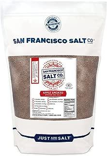 Applewood Smoked Sea Salt - 2 lb. Bag Fine Grain by San Francisco Salt Company