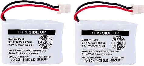 Axiom 2-Pack Ni-Cd Rechargeable Battery For Vtech BT-17333 BT-27333 CS2111