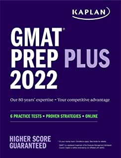 GMAT Prep Plus 2022: 6 Practice Tests + Proven Strategies + Online