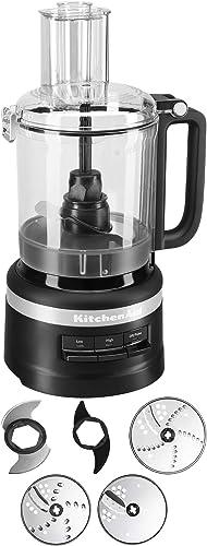 2021 KitchenAid wholesale 9-Cup Food Processor Plus | lowest Black Matte (Renewed) online