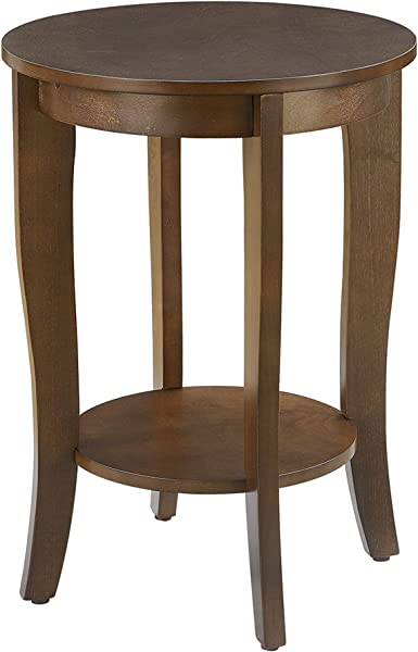 Convenience Concepts 7106259ES American Heritage Accent End Table Espresso